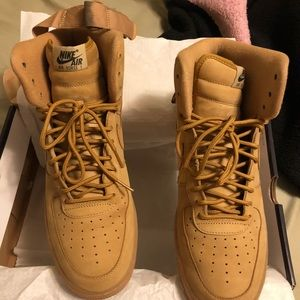 "Men's ""FLAX"" Air Force One - Size 11-1/2"